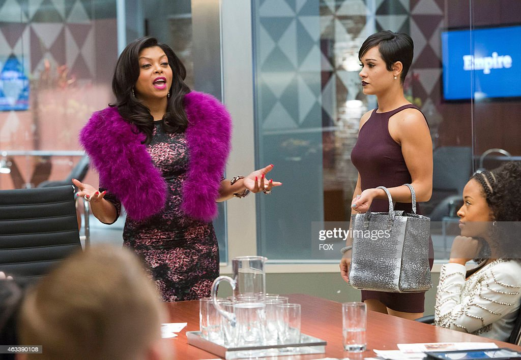 Cookie takes over Anika's meeting in the 'False Imposition' episode of EMPIRE airing Wednesday Jan 28 2015 on FOX
