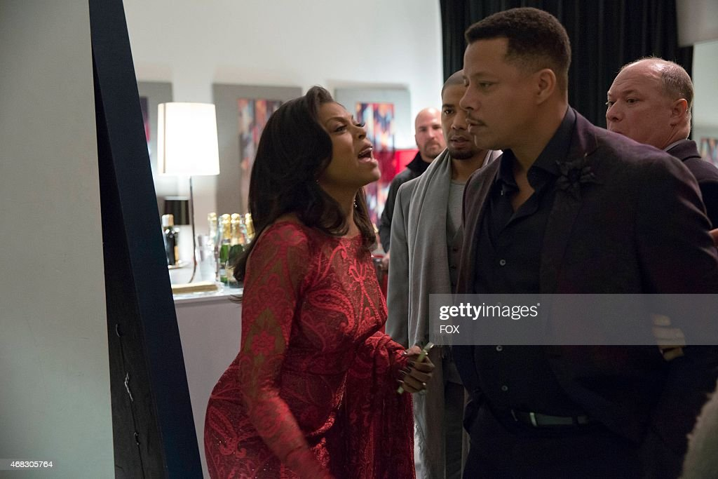 Cookie watches Lucious get taken away in the special twohour 'Die But Once/Who I Am' Season Finale episode of EMPIRE airing Wednesday March 18 on FOX