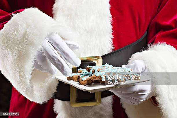 Cookies für Santa Claus
