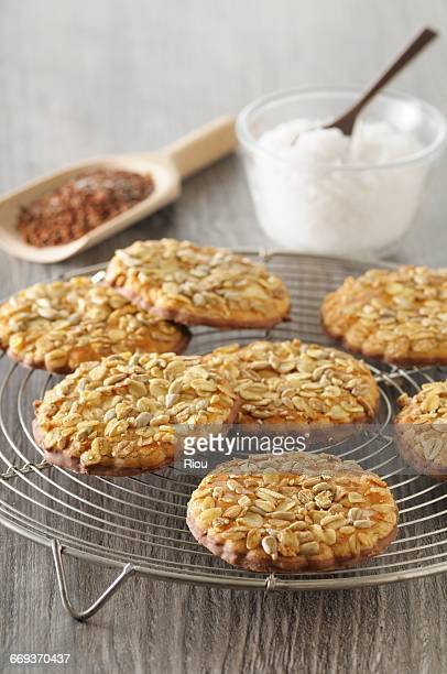 cookies with linseed