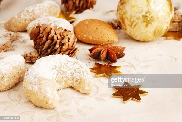 Biscuits avec décoration de Noël