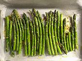 Cooking asparagus