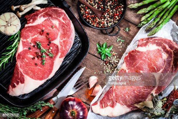 Cooking beef steak fillets