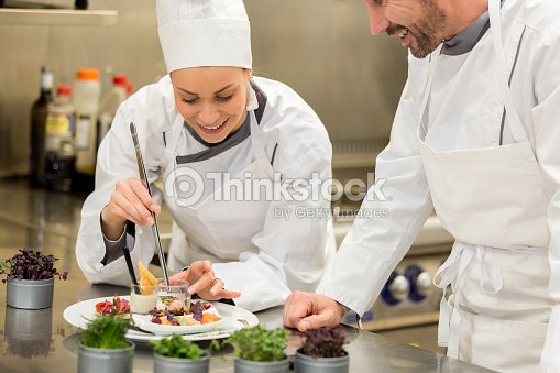 Cooking class : Stock Photo