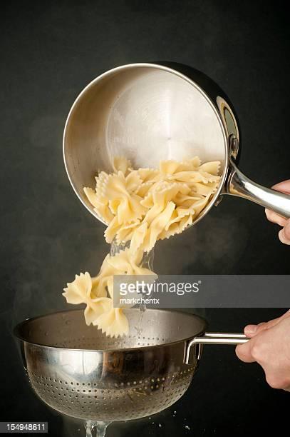 Cooking Farfalle