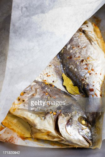 cooking fish paper