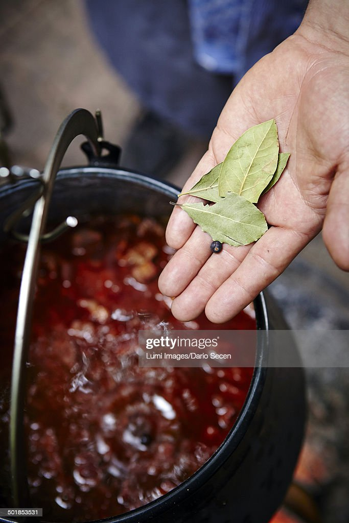 Cooking Goulash Stew : Stock Photo