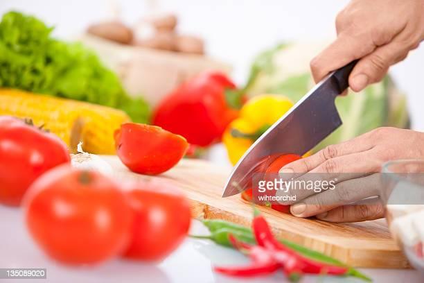 Kochen Hände