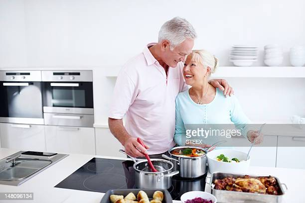 Cooking her way to his heart - Love
