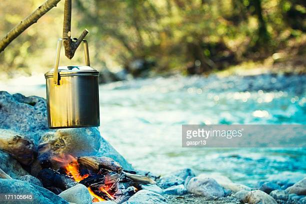 cooking in the wilderness