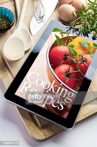 Cooking using Digital Tablet