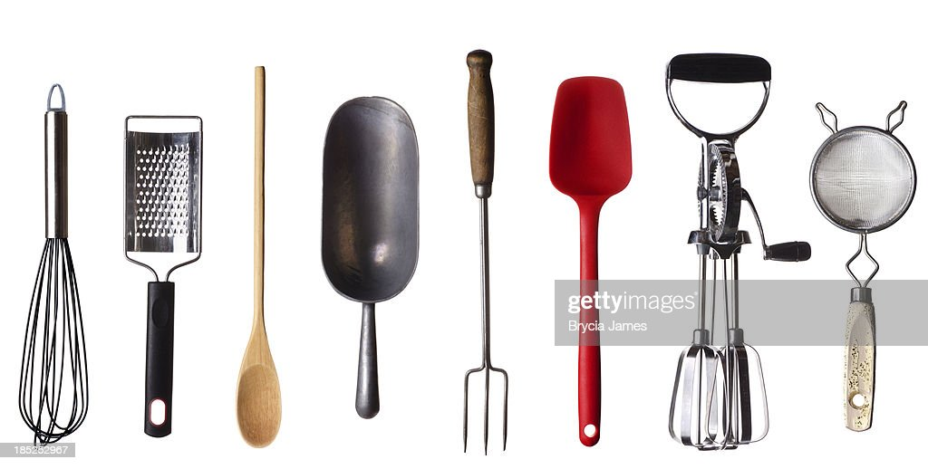 Kitchen Utensils Border cooking utensils border stock photo | getty images