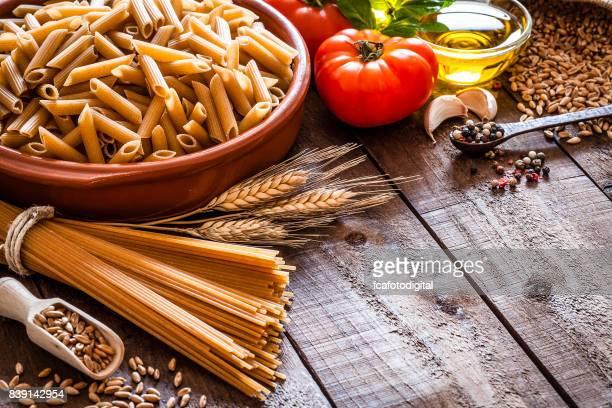 Cooking wholegrain pasta