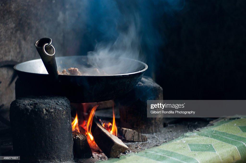 Cooking wild chicken adobo
