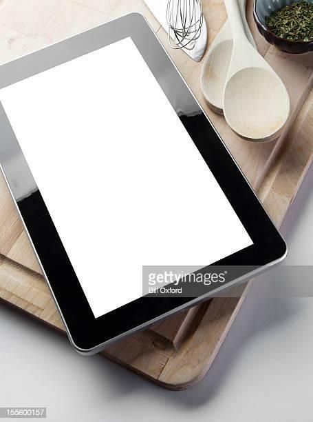 Cuisine avec Tablette numérique