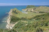 Captain Cook's Landing , Tolaga Bay, New Zealand
