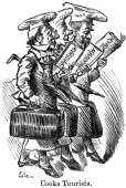 'Cooks Tourists' 1889 An illustration from Punch March 1889 Thomas Cook founded the travel company that bore his name in 1841 By the late 1880s the...