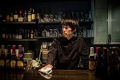 Cool bartender.