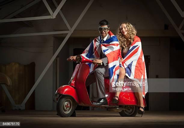 Cool couple with england flag