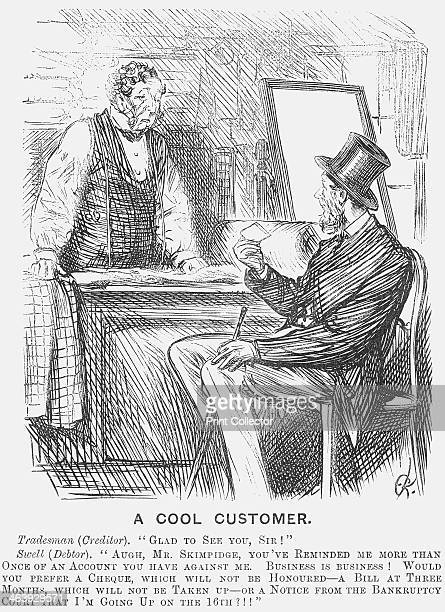 'A Cool Customer' A tailor welcomes his customer The customer offers the tailor a choice of payment methods none of which will result in the...