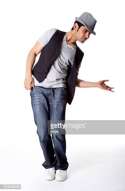 cool hip hop male dancer