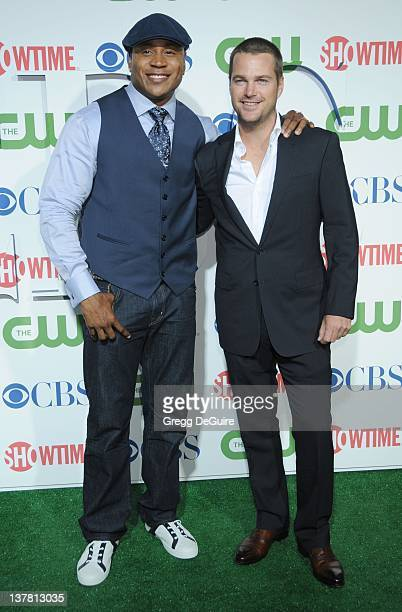 Cool J and Chris O'Donnell arrive at the CBS The CW Showtime Summer Press Tour Party held at The Tent on July 28 2010 in Beverly Hills California