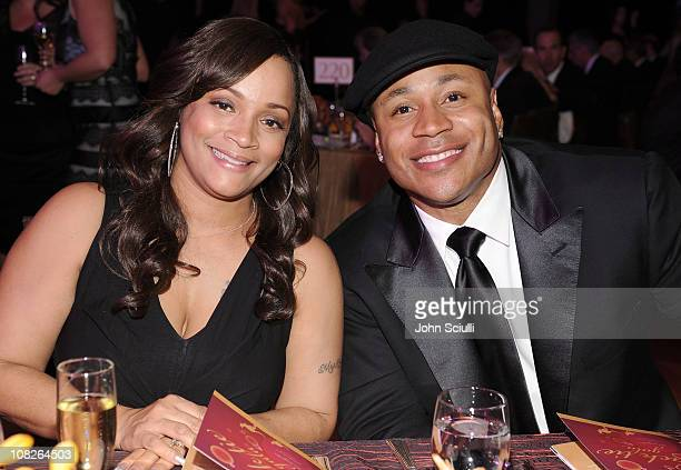 Cool J and wife attend 'G'Day USA 2011' Black Tie Gala at Hollywood Palladium on January 22 2011 in Hollywood California