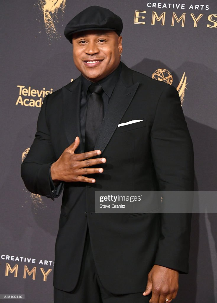LL Cool J arrives at the 2017 Creative Arts Emmy Awards - Day 1 at Microsoft Theater on September 9, 2017 in Los Angeles, California.