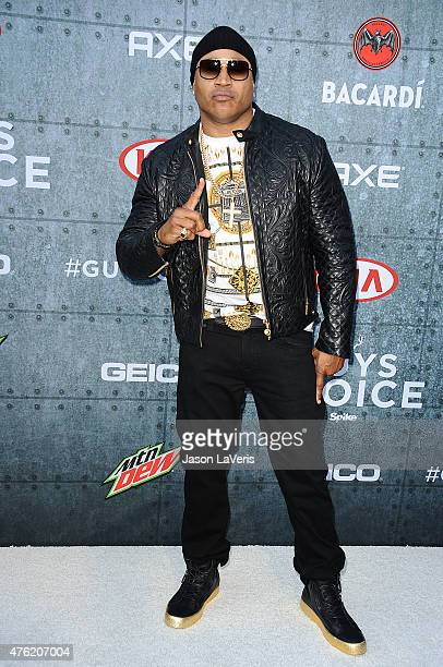 Cool J attends Spike TV's 'Guys Choice 2015' at Sony Pictures Studios on June 6 2015 in Culver City California