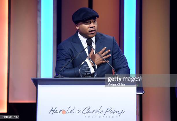 Cool J attends the 17th Annual Harold Carole Pump Foundation Gala at The Beverly Hilton Hotel on August 11 2017 in Beverly Hills California