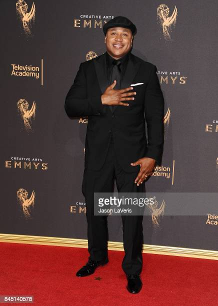 Cool J attends the 2017 Creative Arts Emmy Awards at Microsoft Theater on September 9 2017 in Los Angeles California
