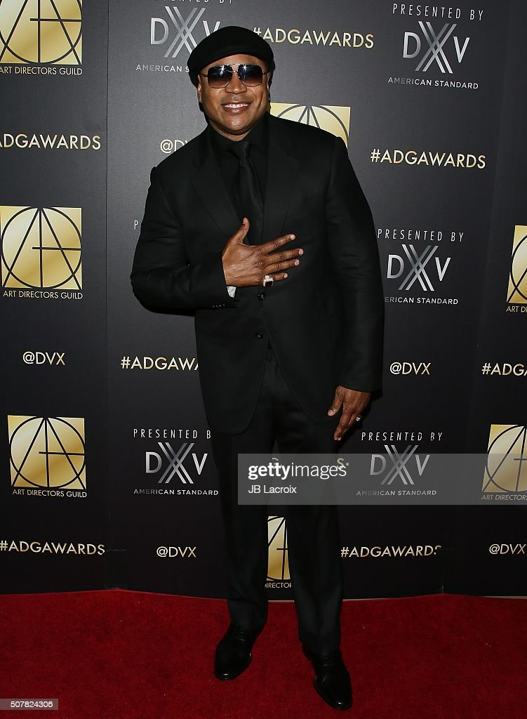 Cool J attends the Art Directors Guild 20th Annual Excellence in Production Awards at The Beverly Hilton Hotel on January 31 2016 in Beverly Hills...