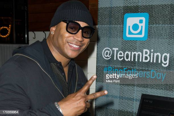 Cool J attends The Bing It On Father's Day Challenge at The Standard Highline on June 11 2013 in New York City
