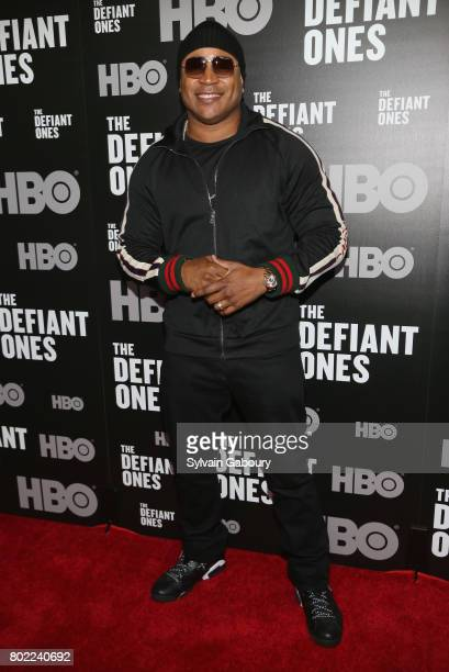 Cool J attends 'The Defiant Ones' New York premiere on June 27 2017 in New York City