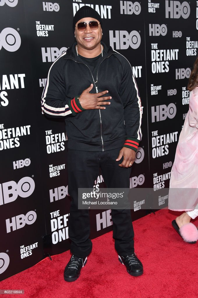 LL Cool J attends 'The Defiant Ones' premiere at Time Warner Center on June 27, 2017 in New York City.