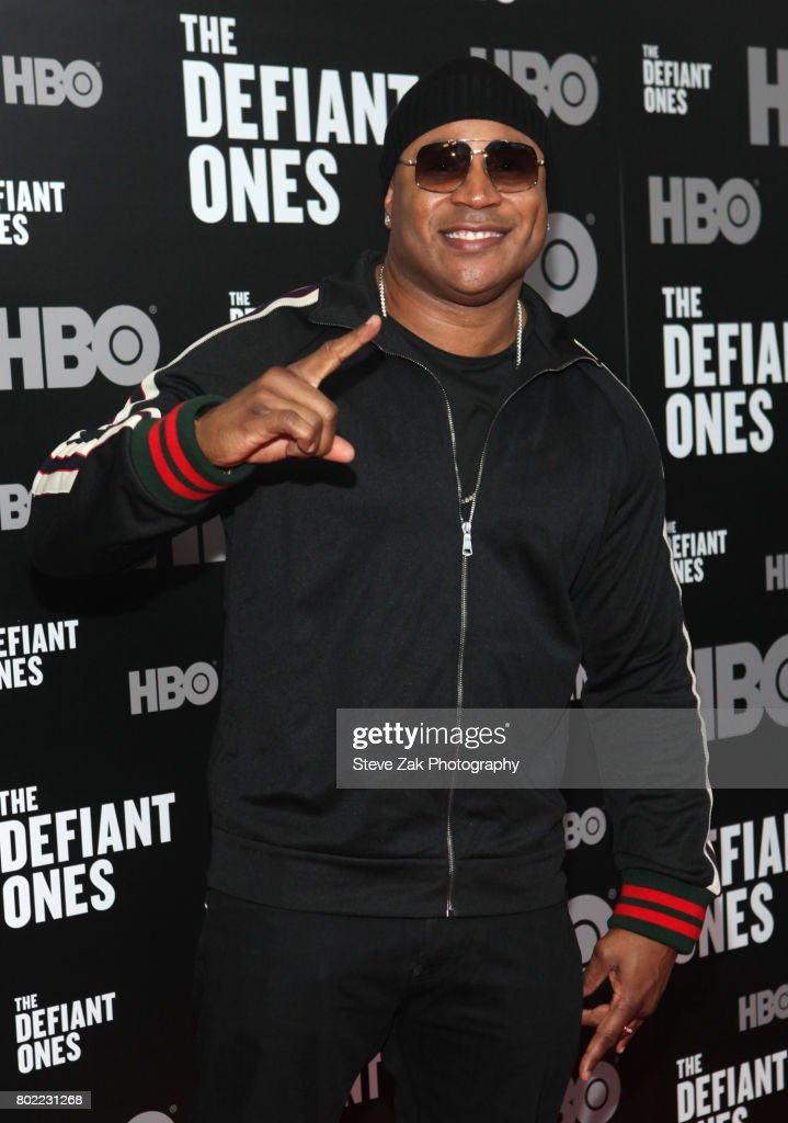 Cool J attends 'The Defiant Ones' premiere at Time Warner Center on June 27, 2017 in New York City.