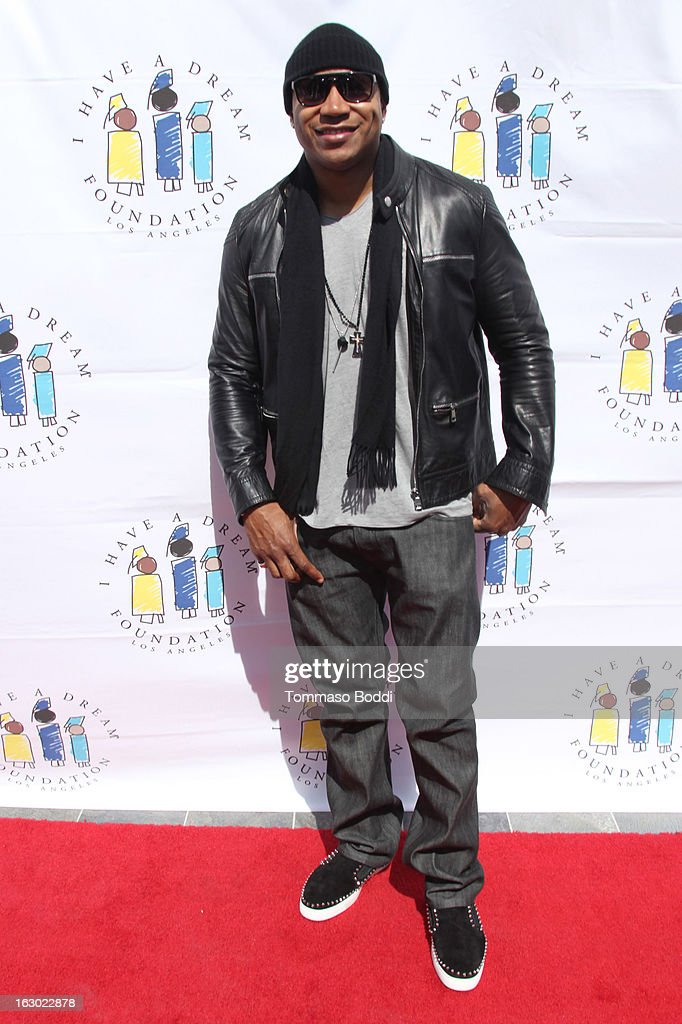 <a gi-track='captionPersonalityLinkClicked' href=/galleries/search?phrase=LL+Cool+J&family=editorial&specificpeople=201567 ng-click='$event.stopPropagation()'>LL Cool J</a> attends the 'I Have A Dream' Foundation's 15th annual Los Angeles dreamer brunch held at the Skirball Cultural Center on March 3, 2013 in Los Angeles, California.