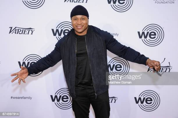 Cool J attends the We Are Family Foundation 2017 Celebration Gala at Hammerstein Ballroom on April 28 2017 in New York City