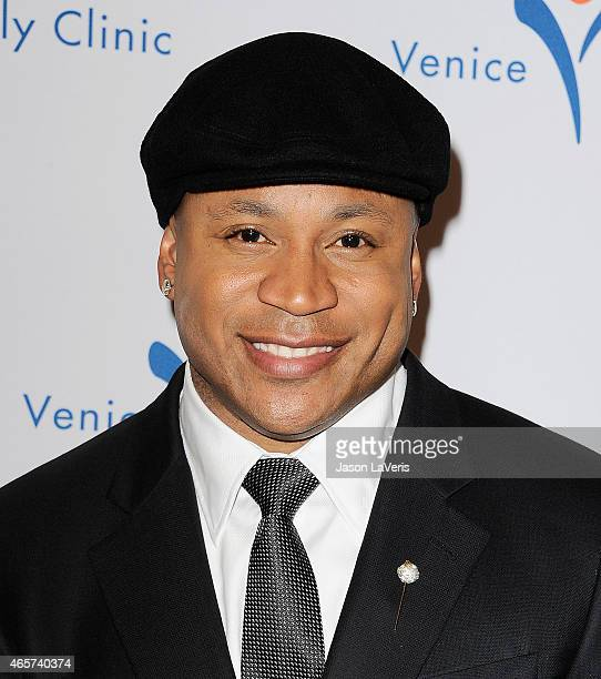 Cool J attends Venice Family Clinic's 33rd annual Silver Circle gala at the Beverly Wilshire Four Seasons Hotel on March 9 2015 in Beverly Hills...