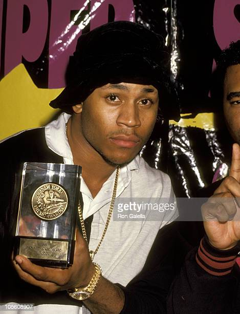 LL Cool J during 1991 NY Music Awards at China Club in New York City New York United States