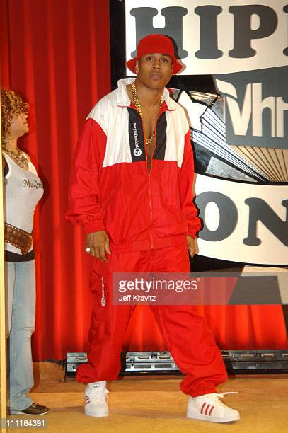 LL Cool J during 2005 VH1 Hip Hop Honors Gold Carpet at Hammerstein Ballroom in New York City New York United States