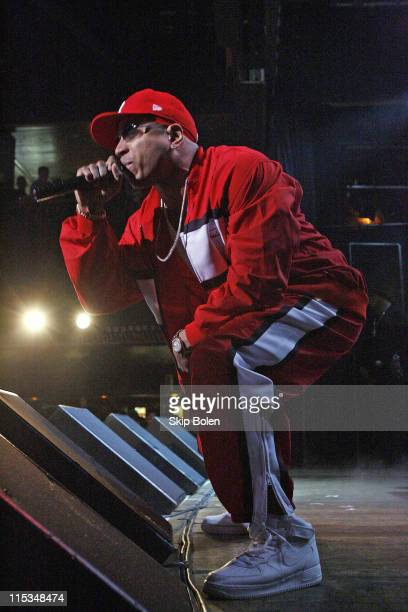 LL Cool J during Visa Signature presents 'Signature Sounds Live on the Sunset Strip' with LL Cool J in Concert February 7 2006 at House of Blues in...