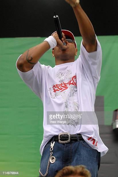 LL Cool J performing at Heineken's AmsterJam during Heineken's AmsterJam 2006 New York City at Randall's Island in New York City New York United...
