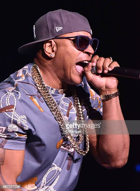 Cool J performs during KBLX Hot Summer Night at Concord Pavilion on September 6 2015 in Concord California