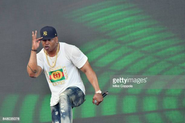 Cool J performs onstage during the Meadows Music and Arts Festival Day 2 at Citi Field on September 16 2017 in New York City