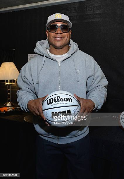Cool J poses backstage during the Coke Zero Countdown at NCAA March Madness Music Festival Day 2 at Reunion Park on April 5 2014 in Dallas Texas