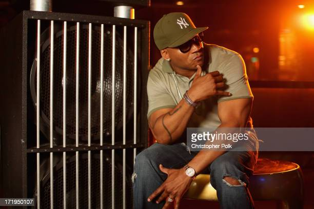 Cool J poses in the Wonderwall Portrait Studio at the iHeartRadio Ultimate Pool Party Presented by VISIT FLORIDA at Fontainebleau's BleauLive in...