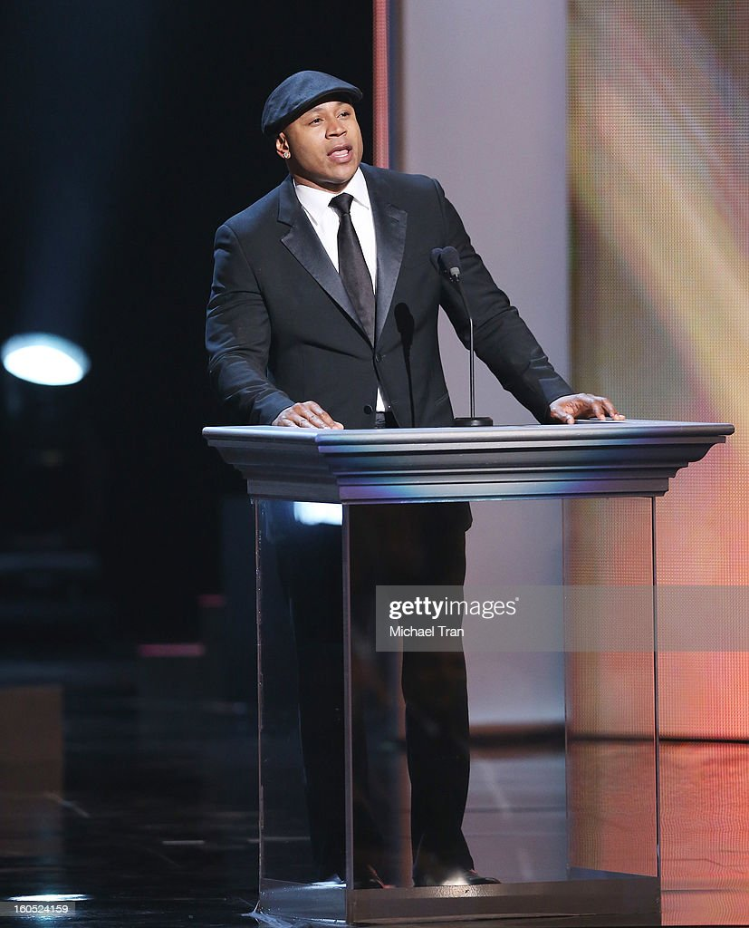 LL Cool J speaks at the 44th NAACP Image Awards - show held at The Shrine Auditorium on February 1, 2013 in Los Angeles, California.