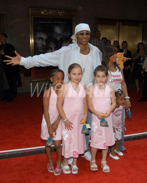 Cool J with family and...
