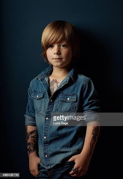 Cool Kid Portrait